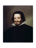 Portrait of Count-Duke of Olivares, 1638 Giclee Print by Diego Velasquez