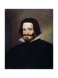 Portrait of Count-Duke of Olivares, 1638 Giclee Print by Diego Velasquez
