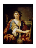 Allegory of Painting (Self-Portrait), 1658 Giclée-tryk af Elisabetta Sirani