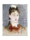 Girl in a Wing Collar, C1880 Giclee Print by Edouard Manet