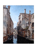 Surroundings of the Church San Sebastian, Venice, 1892 Giclee Print by Emmanuel Lansyer