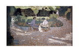In the Garden, 1895-1898 Giclee Print by Edouard Vuillard