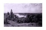 The River Thames from Richmond Hill, London, 1905 Giclee Print by Ernest Albert Waterlow