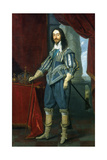 Charles I, King of Great Britain and Ireland, 1631 Lámina giclée por Daniel Mytens