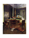 Campaign Desk of Napoleon I, Chateau De La Malmaison, France, 1911-1912 Giclee Print by Edwin Foley