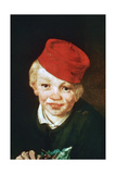 The Boy with the Cherries, Detail, 1859 Giclee Print by Edouard Manet