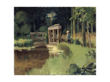 In a Park, 19th Century Giclee Print by Edouard Manet