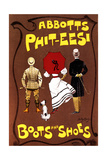 Abbotts Phit-Eesi Boots and Shoes, C1887-1922 Giclee Print by Dudley Hardy