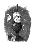 George Biddell Airy (1801-189), English Astronomer and Geophysicist, 1883 Giclee Print by Edward Linley Sambourne