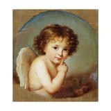 Cupid, Late 18th or 19th Century Reproduction procédé giclée par Elisabeth Louise Vigee-LeBrun