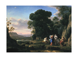 Judgement of Paris (1645-164) Gicléedruk van Claude Lorrain