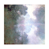 Morning Mists, 1897 Giclee Print by Claude Monet