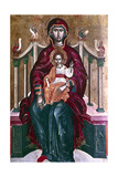 Virgin and Child Icon, 1664 Giclee Print by Emmanuel Tzanes