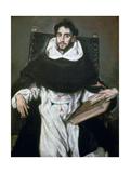 Fray Hortensio Felix Paravicino, 1609 Giclee Print by  El Greco
