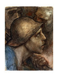 A Worker's Head, 19th or Early 20th Century Giclee Print by Constantin Emile Meunier