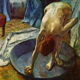 Woman in a Tub, 1886 Reproduction procédé giclée par Edgar Degas