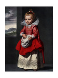 Portrait of the Artist's Daughter Magdalena De Vos, 1927 Giclee Print by Cornelis de Vos