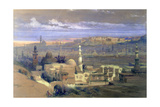 Cairo from the Gate of Citizenib, Looking Towards the Desert of Suez, 19th Century Giclee Print by David Roberts