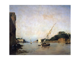 View of the Nile, 19th Century Giclee Print by Eugene Fromentin