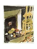 At the Hearth, 1899 Giclee Print by Edouard Vuillard