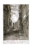 Butcher Row, Westminster, London, 1796 Giclee Print by Edward Dayes