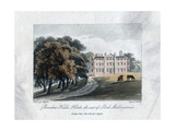 Brocket Hall, Herts, the Seat of Lord Melbourne, 1817 Giclee Print by Daniel Havell