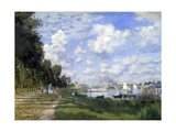 La Marina en Argenteuil, 1872 Lámina giclée por Claude Monet