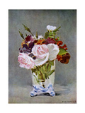 Still Life with Flowers, 1882 Giclee Print by Edouard Manet