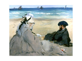 At the Beach, 1873 Giclee Print by Edouard Manet