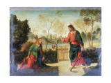 Noli Me Tangere, Early 16th Century Giclée-tryk af Dosso Dossi
