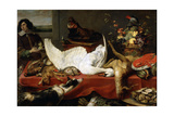 Still Life with a Swan, 1640S Giclee Print by Frans Snyders