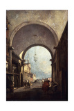 City View, 1770s Giclee Print by Francesco Guardi