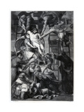 Descent from the Cross, C1545 Giclee Print by E Thomas