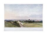 London and Croydon Railway, New Cross, Deptford, London, 1839 Giclee Print by Edward Duncan