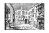 The Great Hall of Charlecote Park, Warwickshire, 1885 Giclee Print by Edward Hull