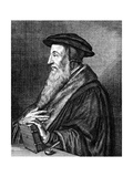 Jean Calvin, 16th Century French Theologian, (C1636-168) Giclee Print by Conrad Meyer
