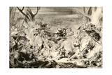 La Bataille De Dreux, 1913 Reproduction procédé giclée par Eugène Delacroix