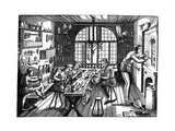 The Studio of Etienne Delaune, 1576 Giclee Print by Etienne Delaune