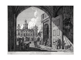 View of Horse Guards, Westminster, London, 1768 Giclee Print by Edward Rooker