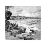 Ocean Beach, Sydney, New South Wales, Australia, 1886 Giclee Print by Frederic B Schell