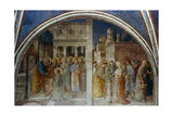 St Peter Ordaining St Stephen Deacon, Mid 15th Century Giclee Print by  Fra Angelico