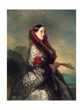 Grand Duchess Maria Nikolaevna of Russia, 1857 Giclee Print by Franz Xaver Winterhalter