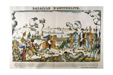Battle of Austerlitz, December 1805 Giclee Print by Francois Georgin