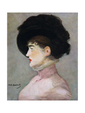 La Viennoise: Portrait of Irma Brunner, 1882 Giclee Print by Edouard Manet
