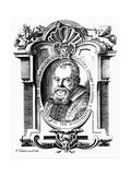 Galileo Galilei, Italian Astronomer and Mathematician, Early 17th Century Giclee Print by Francesco Villamena