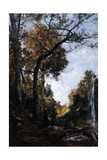 The Autumn Walk, 1869 Giclee Print by Emmanuel Lansyer