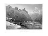 Iceberg Lake, Isterdal, Norway, Mid-Late 19th Century Giclee Print by Edward Paxman Brandard