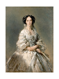 Portrait of Maria Alexandrovna, 1857 Giclee Print by Franz Xaver Winterhalter