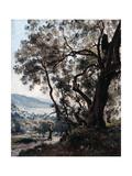 Roquebrune, 1892 Giclee Print by Emmanuel Lansyer