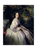 Portrait of Countess Alexander Nikolaevitch Lamsdorff, 1859 Giclee Print by Franz Xaver Winterhalter